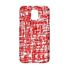 Red decorative pattern Samsung Galaxy S5 Hardshell Case