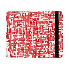 Red decorative pattern Samsung Galaxy Tab Pro 8.4  Flip Case
