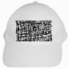 Gray pattern White Cap