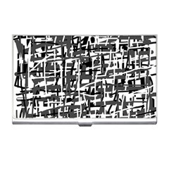 Gray pattern Business Card Holders
