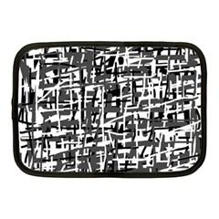 Gray pattern Netbook Case (Medium)