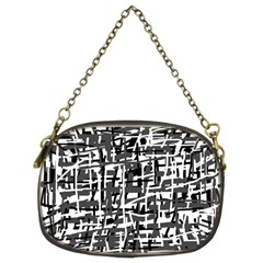 Gray pattern Chain Purses (Two Sides)