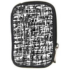Gray pattern Compact Camera Cases