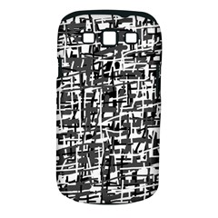 Gray pattern Samsung Galaxy S III Classic Hardshell Case (PC+Silicone)