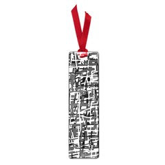 Gray pattern Small Book Marks