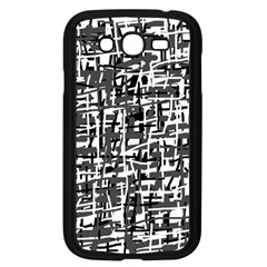Gray pattern Samsung Galaxy Grand DUOS I9082 Case (Black)