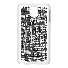 Gray pattern Samsung Galaxy Note 3 N9005 Case (White)