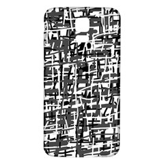Gray pattern Samsung Galaxy S5 Back Case (White)