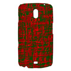 Green and red pattern Samsung Galaxy Nexus i9250 Hardshell Case