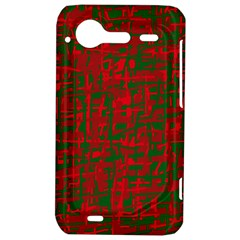 Green and red pattern HTC Incredible S Hardshell Case