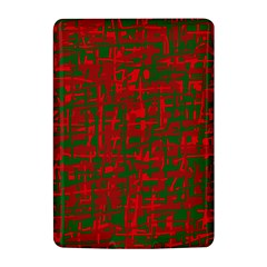 Green and red pattern Kindle 4