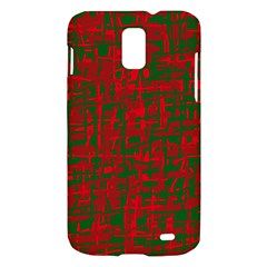 Green and red pattern Samsung Galaxy S II Skyrocket Hardshell Case