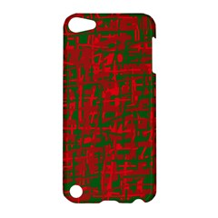 Green and red pattern Apple iPod Touch 5 Hardshell Case