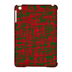 Green and red pattern Apple iPad Mini Hardshell Case (Compatible with Smart Cover)