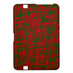 Green and red pattern Kindle Fire HD 8.9