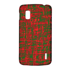 Green and red pattern LG Nexus 4