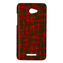 Green and red pattern HTC Butterfly X920E Hardshell Case