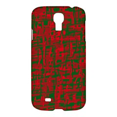 Green and red pattern Samsung Galaxy S4 I9500/I9505 Hardshell Case