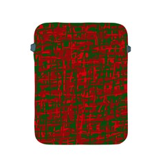Green and red pattern Apple iPad 2/3/4 Protective Soft Cases