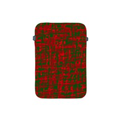 Green and red pattern Apple iPad Mini Protective Soft Cases