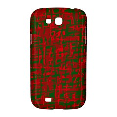 Green and red pattern Samsung Galaxy Grand GT-I9128 Hardshell Case