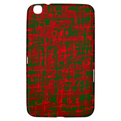 Green and red pattern Samsung Galaxy Tab 3 (8 ) T3100 Hardshell Case