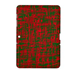 Green and red pattern Samsung Galaxy Tab 2 (10.1 ) P5100 Hardshell Case