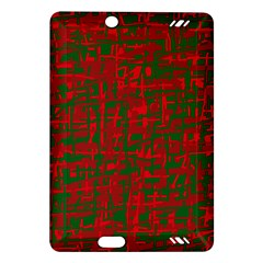 Green and red pattern Amazon Kindle Fire HD (2013) Hardshell Case