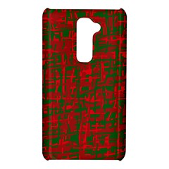 Green and red pattern LG G2
