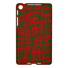 Green and red pattern Nexus 7 (2013)