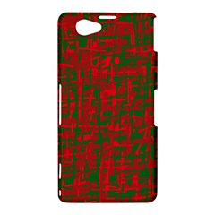 Green and red pattern Sony Xperia Z1 Compact