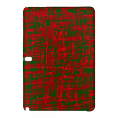 Green and red pattern Samsung Galaxy Tab Pro 10.1 Hardshell Case