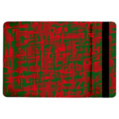 Green and red pattern iPad Air 2 Flip