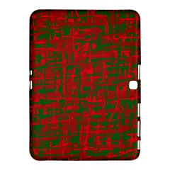 Green and red pattern Samsung Galaxy Tab 4 (10.1 ) Hardshell Case