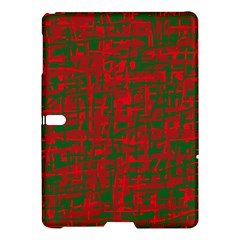 Green and red pattern Samsung Galaxy Tab S (10.5 ) Hardshell Case