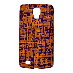 Blue and orange decorative pattern Galaxy S4 Active