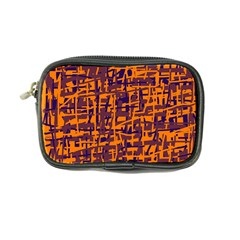 Orange and blue pattern Coin Purse