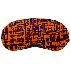 Orange and blue pattern Sleeping Masks