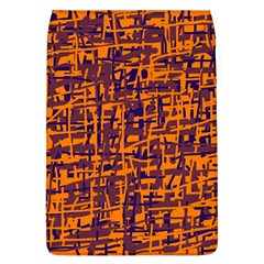 Orange and blue pattern Flap Covers (L)