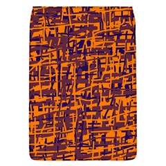 Orange and blue pattern Flap Covers (S)