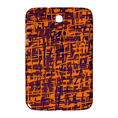 Orange and blue pattern Samsung Galaxy Note 8.0 N5100 Hardshell Case
