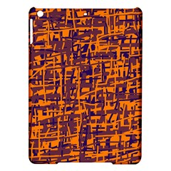 Orange and blue pattern iPad Air Hardshell Cases