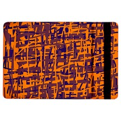 Orange And Blue Pattern Ipad Air 2 Flip
