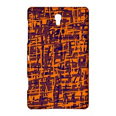Orange and blue pattern Samsung Galaxy Tab S (8.4 ) Hardshell Case