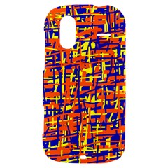 Orange, blue and yellow pattern HTC Amaze 4G Hardshell Case