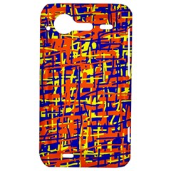 Orange, blue and yellow pattern HTC Incredible S Hardshell Case