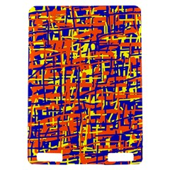 Orange, blue and yellow pattern Kindle Touch 3G