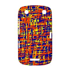 Orange, blue and yellow pattern BlackBerry Curve 9380