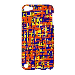 Orange, blue and yellow pattern Apple iPod Touch 5 Hardshell Case