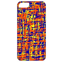Orange, blue and yellow pattern Apple iPhone 5 Classic Hardshell Case